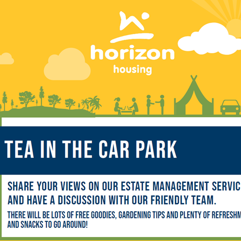 Tea in the Car Park poster