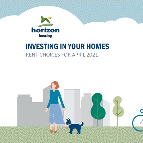 Investing in your homes - rent choices for April 2021